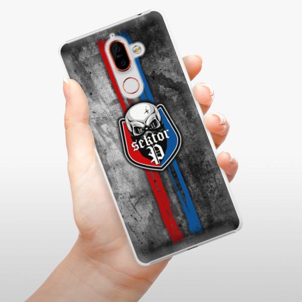 Plastové pouzdro iSaprio - FCVP - Lebka na mobil Nokia 7 Plus