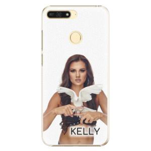 Plastové pouzdro iSaprio - Kelly s hrdličkou na mobil Honor 7A + podepsaná karta s Kelly