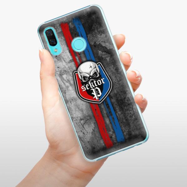 Plastové pouzdro iSaprio - FCVP - Lebka na mobil Huawei Nova 3
