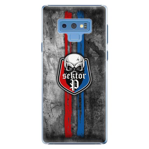 Plastový kryt - FCVP - Lebka na mobil Samsung Galaxy Note 9