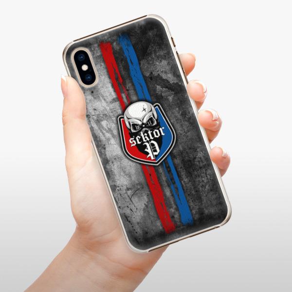 Plastové pouzdro iSaprio - FCVP - Lebka na mobil Apple iPhone XS
