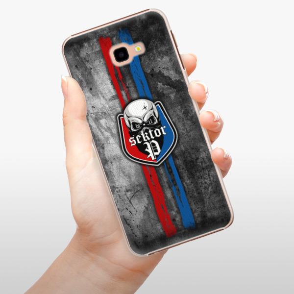 Plastové pouzdro iSaprio - FCVP - Lebka na mobil Samsung Galaxy J4 Plus