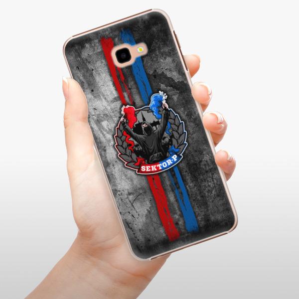 Plastové pouzdro iSaprio - FCVP - Fanatik na mobil Samsung Galaxy J4 Plus