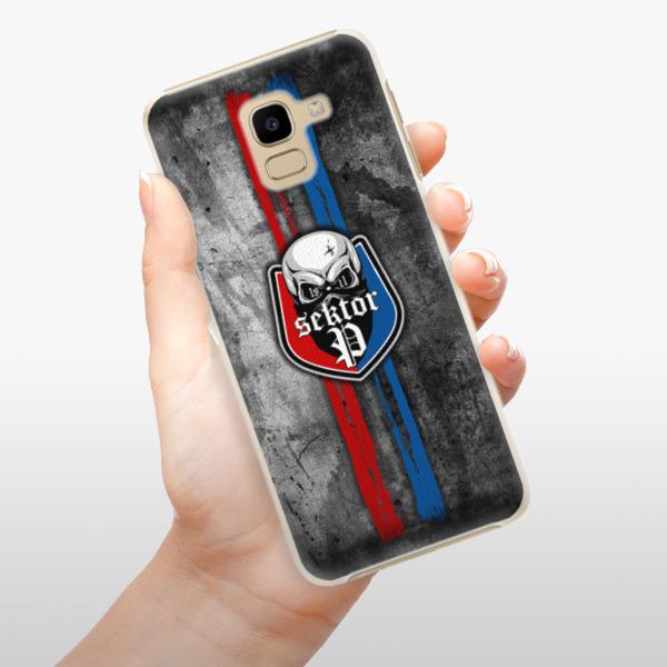 Plastové pouzdro iSaprio - FCVP - Lebka na mobil Samsung Galaxy J6