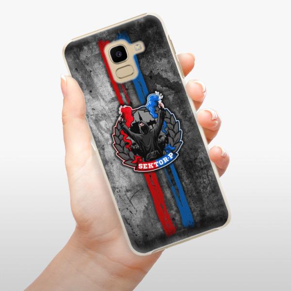 Plastové pouzdro iSaprio - FCVP - Fanatik na mobil Samsung Galaxy J6