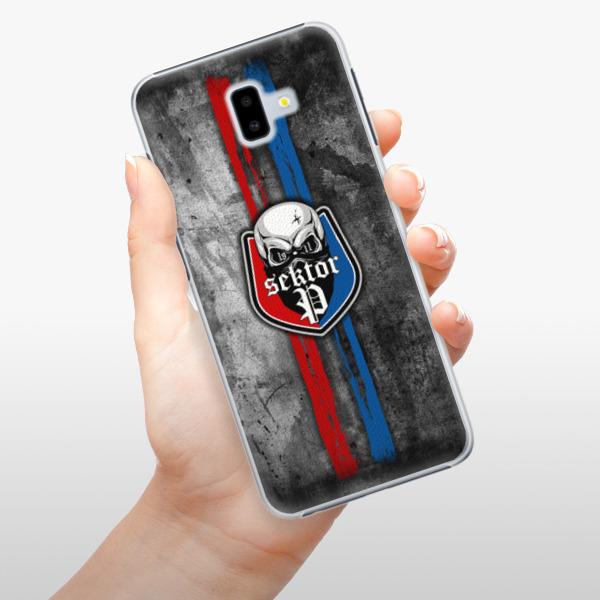 Plastové pouzdro iSaprio - FCVP - Lebka na mobil Samsung Galaxy J6 Plus