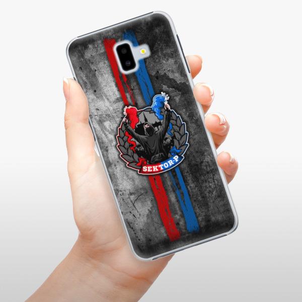 Plastové pouzdro iSaprio - FCVP - Fanatik na mobil Samsung Galaxy J6 Plus