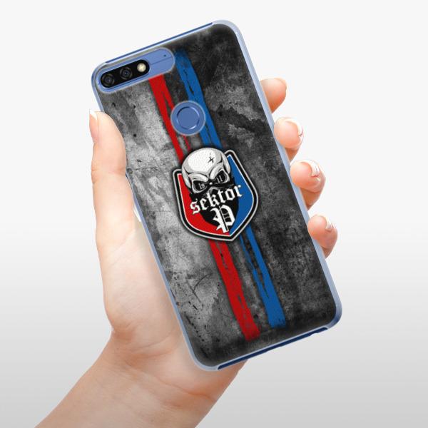 Plastové pouzdro iSaprio - FCVP - Lebka na mobil Honor 7C