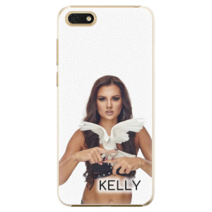 Plastové pouzdro iSaprio - Kelly s hrdličkou na mobil Honor 7S + podepsaná karta s Kelly