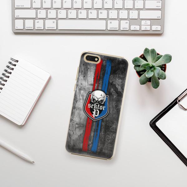 Plastové pouzdro iSaprio - FCVP - Lebka na mobil Honor 7S