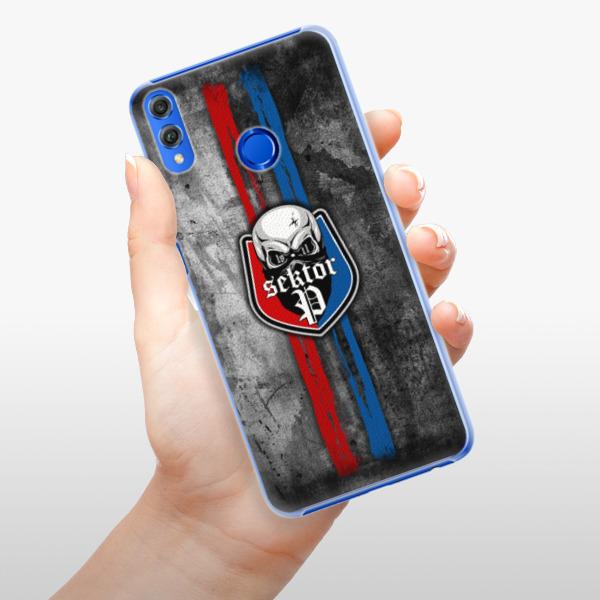 Plastové pouzdro iSaprio - FCVP - Lebka na mobil Honor 8X