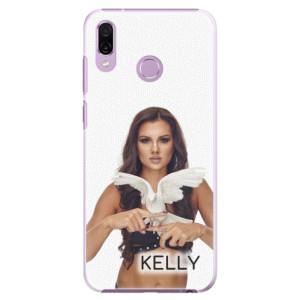 Plastové pouzdro iSaprio - Kelly s hrdličkou na mobil Honor Play + podepsaná karta s Kelly