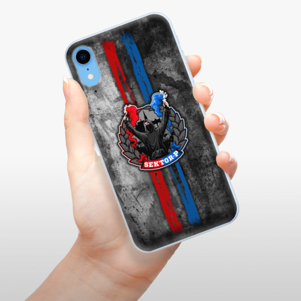 Silikonové pouzdro iSaprio - FCVP - Fanatik na mobil Apple iPhone XR