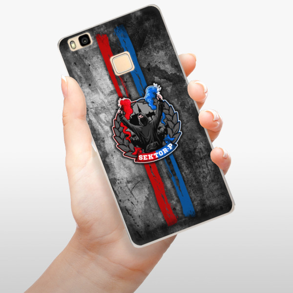 Silikonové pouzdro iSaprio - FCVP - Fanatik na mobil Huawei Ascend P9 Lite