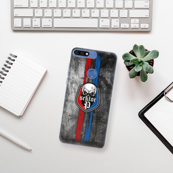 Silikonové pouzdro iSaprio - FCVP - Lebka na mobil Honor 7C