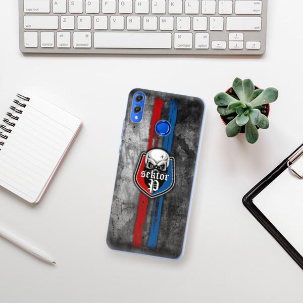 Silikonové pouzdro iSaprio - FCVP - Lebka na mobil Honor 8X