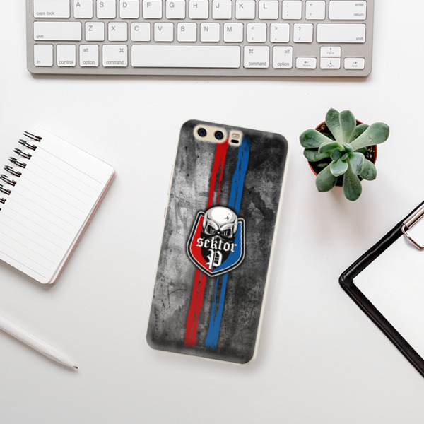 Silikonové pouzdro iSaprio - FCVP - Lebka na mobil Huawei P10