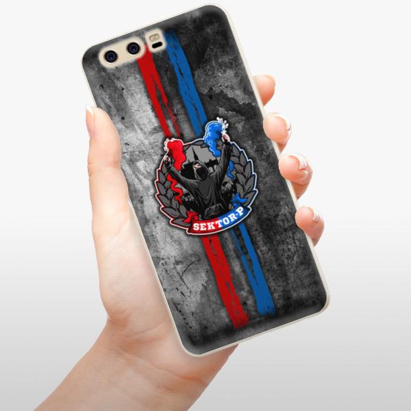 Silikonové pouzdro iSaprio - FCVP - Fanatik na mobil Huawei P10