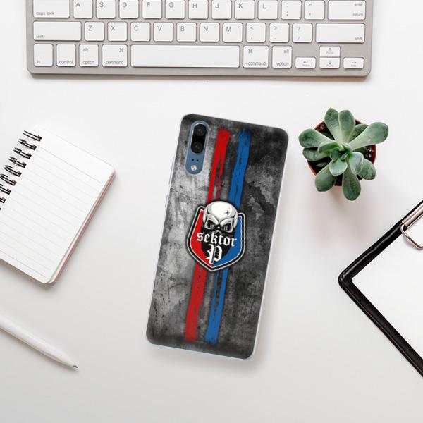 Silikonové pouzdro iSaprio - FCVP - Lebka na mobil Huawei P20