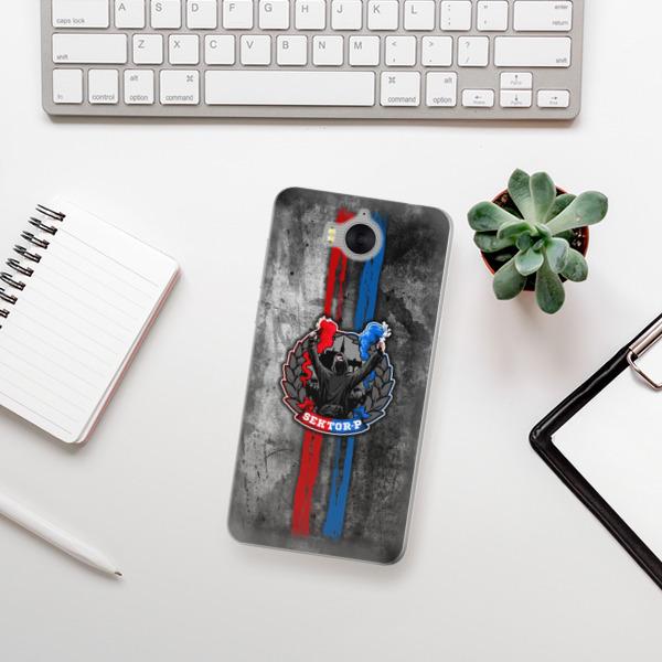 Silikonové pouzdro iSaprio - FCVP - Fanatik na mobil Huawei Y5 2017 / Y6 2017