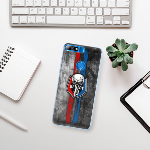 Silikonové pouzdro iSaprio - FCVP - Lebka na mobil Huawei Y7 Prime 2018