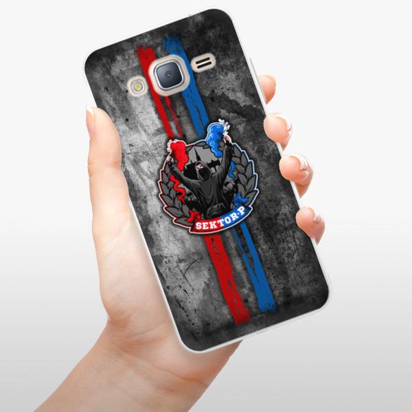 Silikonové pouzdro iSaprio - FCVP - Fanatik na mobil Samsung Galaxy J3