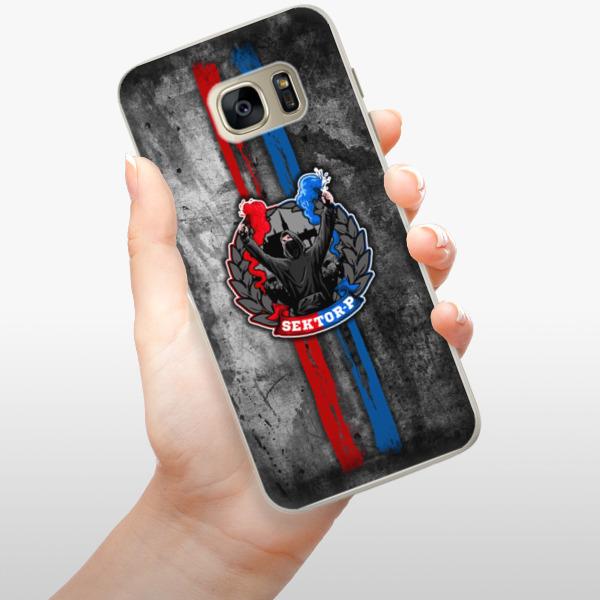 Silikonové pouzdro iSaprio - FCVP - Fanatik na mobil Samsung Galaxy S7