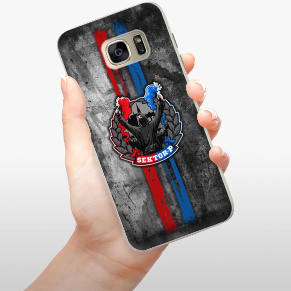 Silikonové pouzdro iSaprio - FCVP - Fanatik na mobil Samsung Galaxy S7 Edge