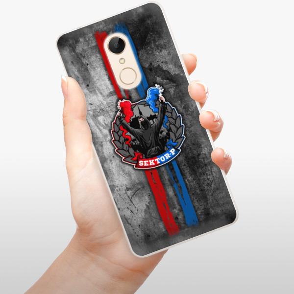 Silikonové pouzdro iSaprio - FCVP - Fanatik na mobil Xiaomi Redmi 5