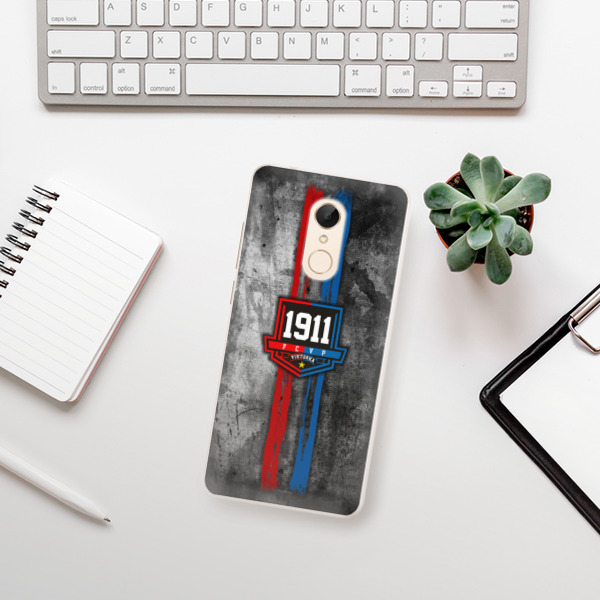 Silikonové pouzdro iSaprio - FCVP - Erb na mobil Xiaomi Redmi 5