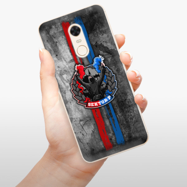 Silikonové pouzdro iSaprio - FCVP - Fanatik na mobil Xiaomi Redmi 5 Plus