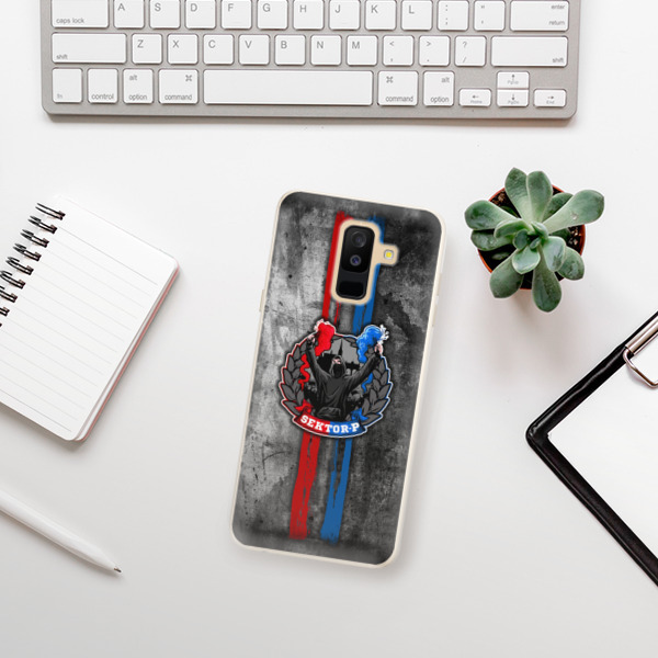 Silikonové pouzdro iSaprio - FCVP - Fanatik na mobil Samsung Galaxy A6 Plus