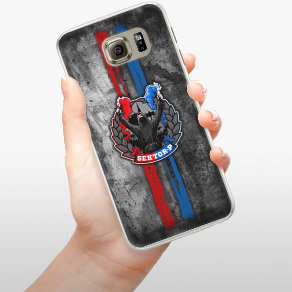 Silikonové pouzdro iSaprio - FCVP - Fanatik na mobil Samsung Galaxy S6 Edge