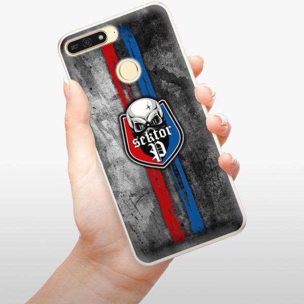 Silikonové pouzdro iSaprio - FCVP - Lebka na mobil Honor 7A