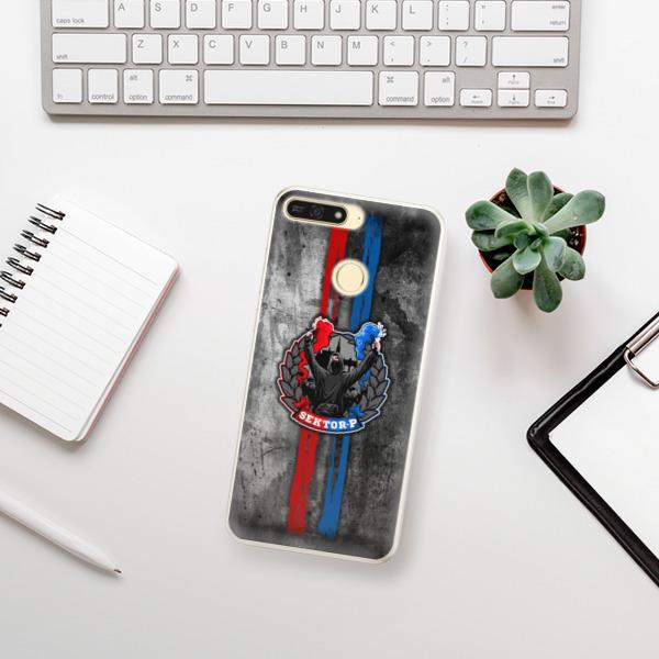 Silikonové pouzdro iSaprio - FCVP - Fanatik na mobil Honor 7A