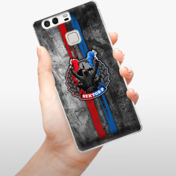 Silikonové pouzdro iSaprio - FCVP - Fanatik na mobil Huawei P9