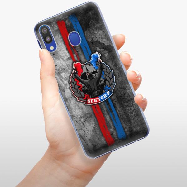 Plastové pouzdro iSaprio - FCVP - Fanatik na mobil Samsung Galaxy M20