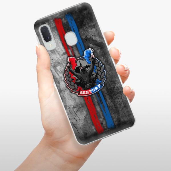 Plastové pouzdro iSaprio - FCVP - Fanatik na mobil Samsung Galaxy A20e