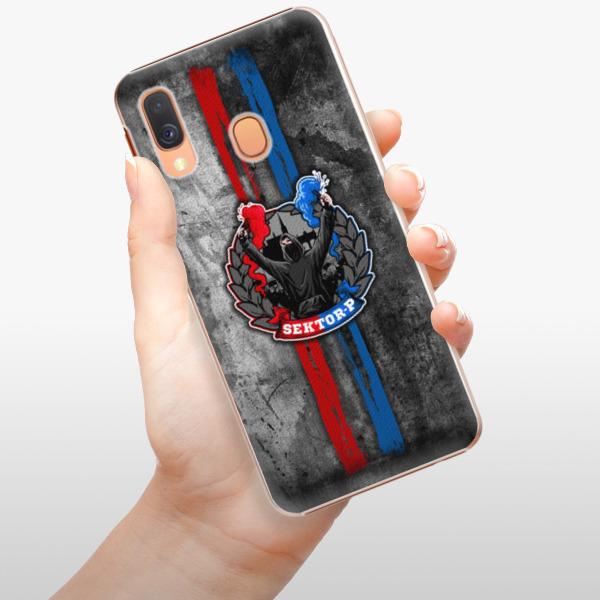 Plastové pouzdro iSaprio - FCVP - Fanatik na mobil Samsung Galaxy A40