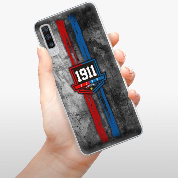 Plastové pouzdro iSaprio - FCVP - Erb na mobil Samsung Galaxy A70
