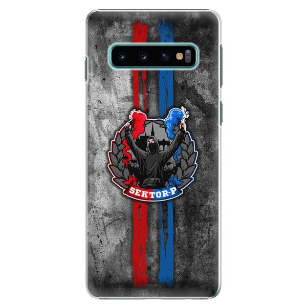 Plastový kryt - FCVP - Fanatik na mobil Samsung Galaxy S10