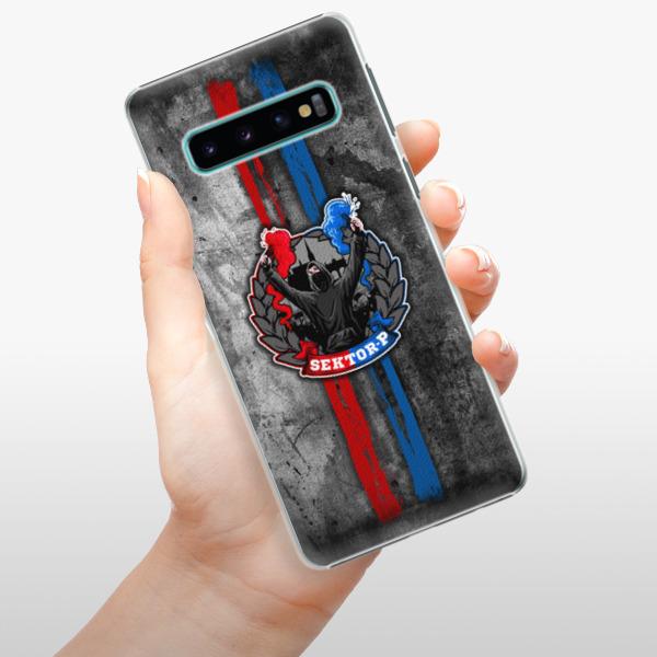 Plastové pouzdro iSaprio - FCVP - Fanatik na mobil Samsung Galaxy S10