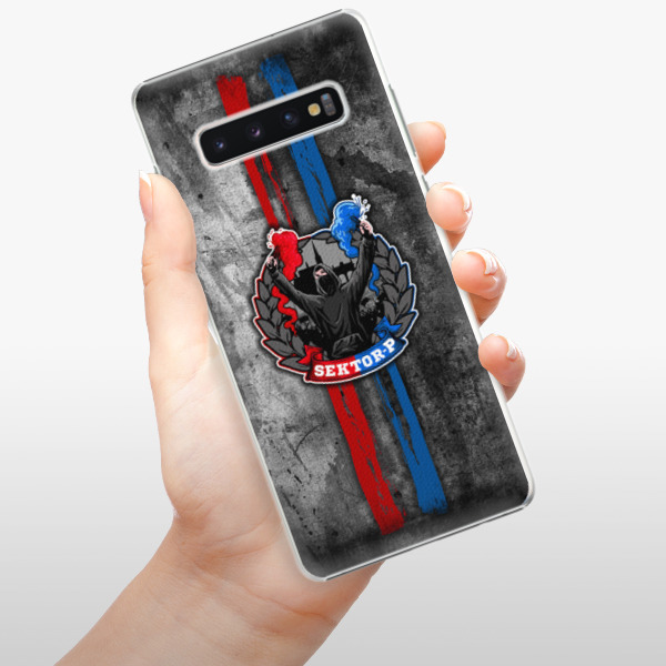 Plastové pouzdro iSaprio - FCVP - Fanatik na mobil Samsung Galaxy S10 Plus