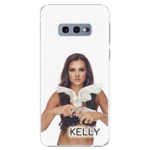 Plastové pouzdro iSaprio - Kelly s hrdličkou na mobil Samsung Galaxy S10e + podepsaná karta s Kelly