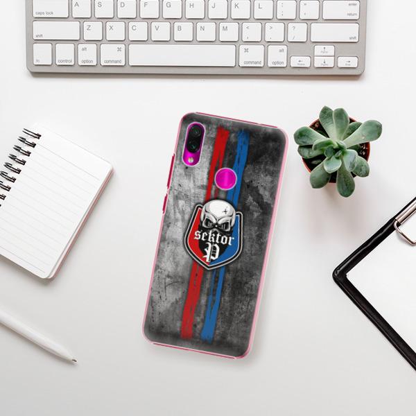 Plastové pouzdro iSaprio - FCVP - Lebka na mobil Xiaomi Redmi Note 7