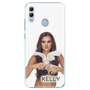 Plastové pouzdro iSaprio - Kelly s hrdličkou na mobil Honor 10 Lite + podepsaná karta s Kelly