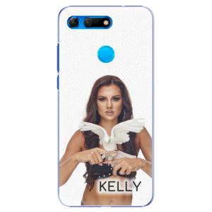 Plastové pouzdro iSaprio - Kelly s hrdličkou na mobil Honor View 20 + podepsaná karta s Kelly