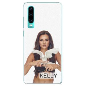 Plastové pouzdro iSaprio - Kelly s hrdličkou na mobil Huawei P30 + podepsaná karta s Kelly