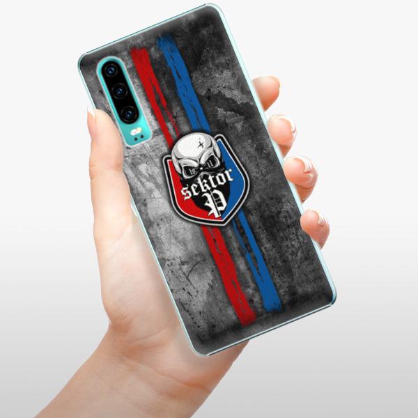 Plastové pouzdro iSaprio - FCVP - Lebka na mobil Huawei P30