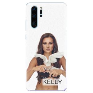 Plastové pouzdro iSaprio - Kelly s hrdličkou na mobil Huawei P30 Pro + podepsaná karta s Kelly